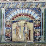 Nettuno e Anfitrite mozaik Herculaneum